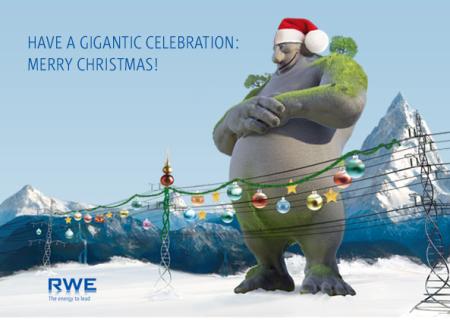 RWE-Weihnachtswerbung