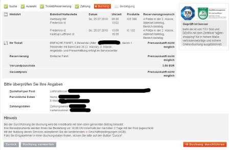 Deutsche Bahn: Auslandsreisen? Unbezahlbar!
